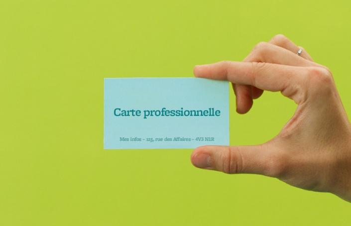 Carte professionnelle